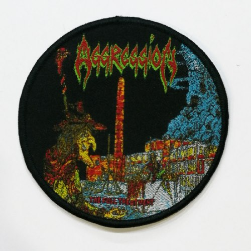 AGGRESSION 美国进口原版 The Full Treatment (Woven Patch)