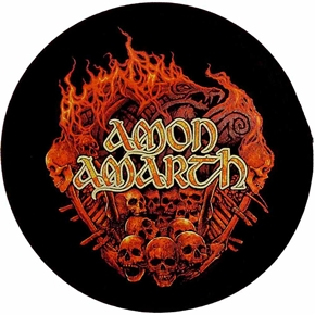 AMON AMARTH 官方进口原版 Battle Field (Woven Patch)