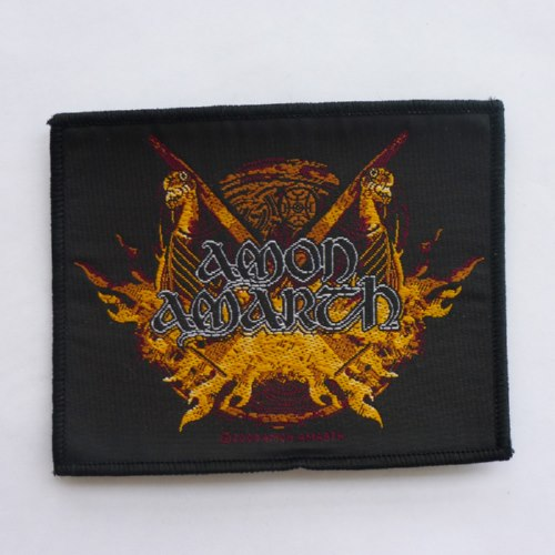 AMON AMARTH 官方进口原版 Fired Boat (Woven Patch)