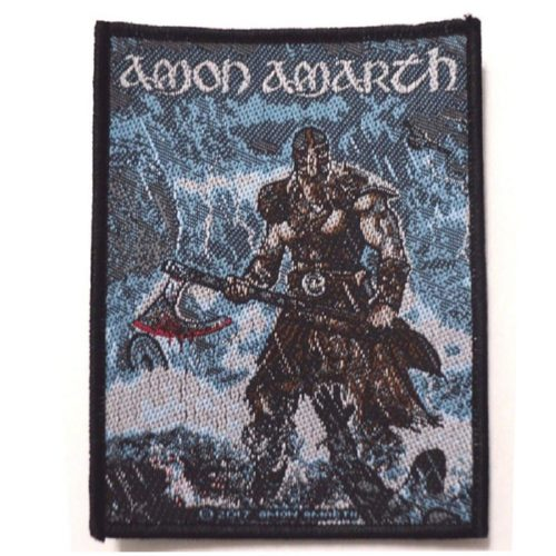 AMON AMARTH 官方进口原版 Jomsviking (Woven Patch)