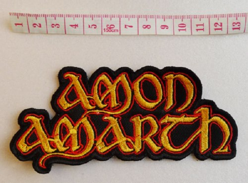 AMON AMARTH - Logo 异形 (Embroidered Patch)