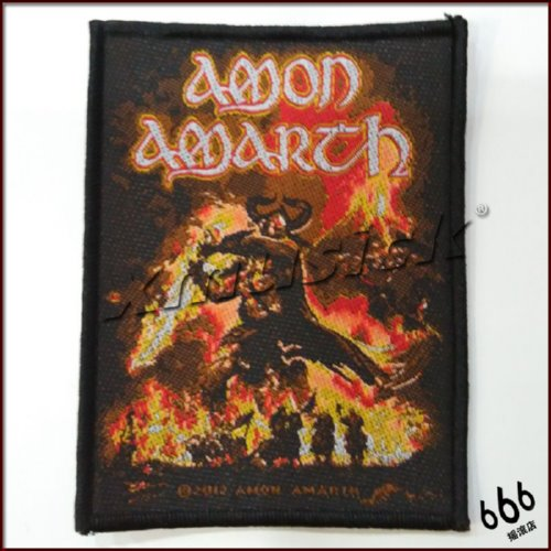 AMON AMARTH 官方进口原版 Surtur Rising (Woven Patch)