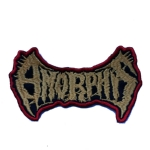 AMORPHIS - Logo 红边 (Embroidered Patch)