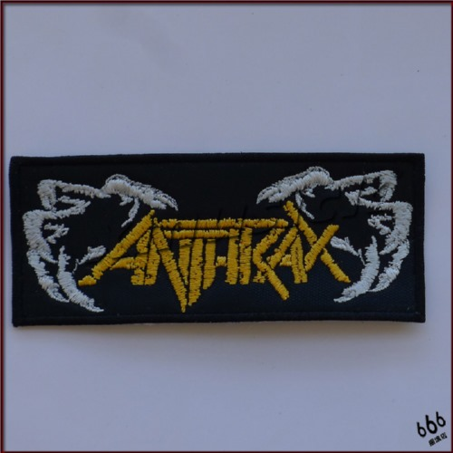 ANTHRAX - Crawl (Embroidered Patch)
