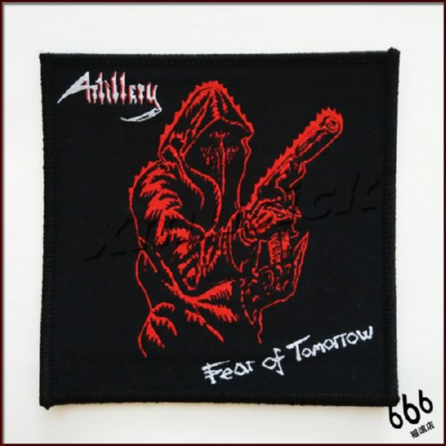ARTILLERY 官方进口原版 Fear Of Tomorrow (Woven Patch)