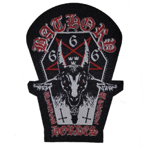 BATHORY 官方进口原版 Black Metal Horde (Woven Patch)
