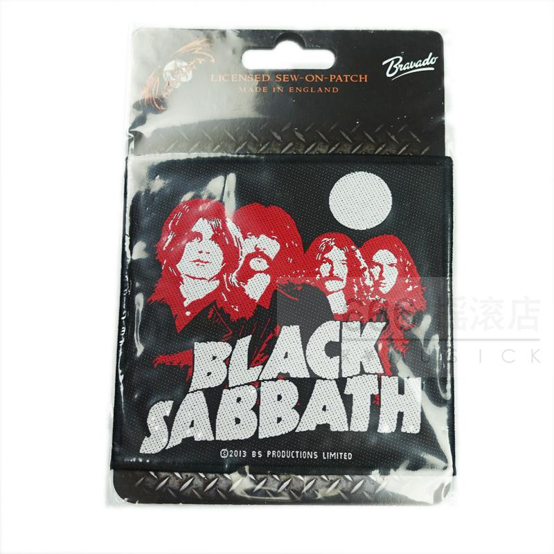 BLACK SABBATH 官方进口原版 U.S. 78 Tour Band Photo (Woven Patch)