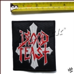 BLOOD FEAST - Logo (Embroidered Patch)