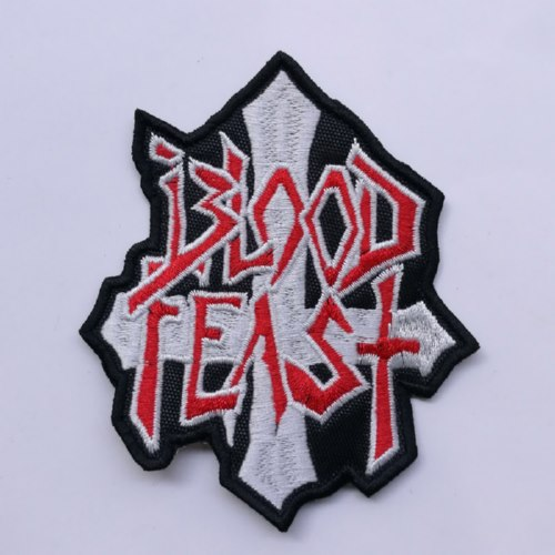 BLOOD FEAST - Logo 异形 (Embroidered Patch)