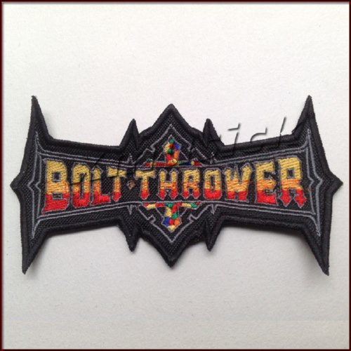 BOLT THROWER - Shaped Logo (Embroidered Patch)