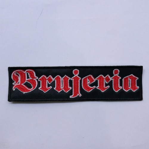 BRUJERIA - Logo 红色 (Embroidered Patch)