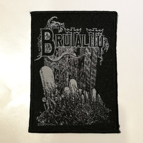BRUTALITY 官方进口原版 Ruins Of Human (Woven Patch)