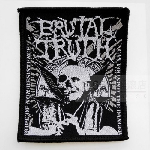 BRUTAL TRUTH 官方原版进口 Can You Spot (Woven Patch)