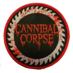 CANNIBAL CORPSE 官方进口原版 Bloody Logo (Woven Patch)