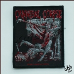 CANNIBAL CORPSE 官方进口原版 Tomb of Mutilated (Woven Patch)