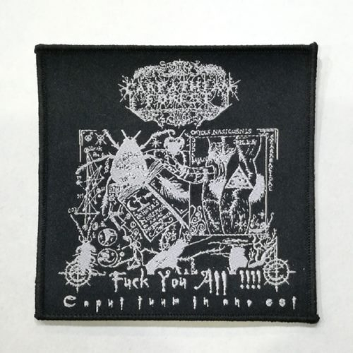 CARPATHIAN FOREST 美国进口原版 Fuck you all (Woven Patch)
