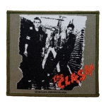 CLASH,THE 官方进口原版 Eponymous Cover (Woven Patch)
