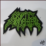 CRYPTIC SLAUGHTER - Logo (Embroidered Patch)
