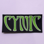 CYNIC - Logo (Embroidered Patch)