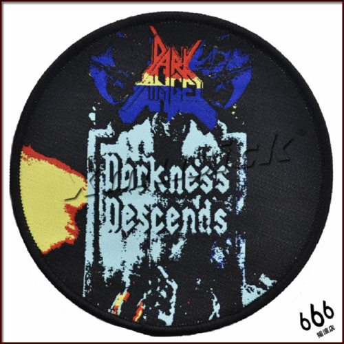 DARK ANGEL 美国进口原版 Darkness Descends (Woven Patch)