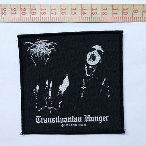 DARKTHRONE 官方进口原版 Transilvanian Hunger (Woven Patch)