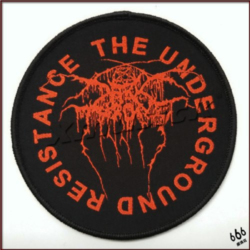 DARKTHRONE 官方进口原版 The Underground Resistance (Woven Patch)