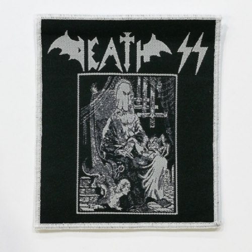 DEATH SS 美国进口原版 Evil Metal 白边 (Woven Patch)