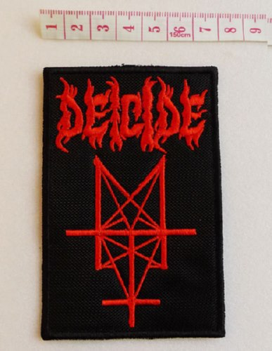 DEICIDE - Logo (Embroidered Patch)