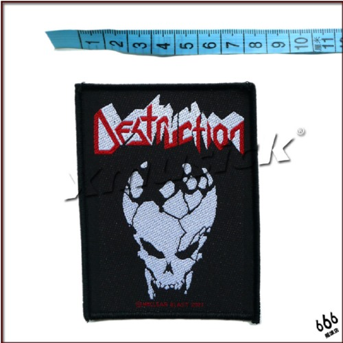 DESTRUCTION 官方进口原版 Skull (Woven Patch)