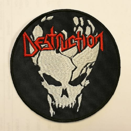 DESTRUCTION - Skull (Embroidered Patch)
