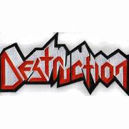 DESTRUCTION - Logo 异形 (Embroidered Patch)