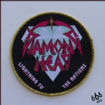 DIAMOND HEAD 进口原版 Lightning To The Nations (Woven Patch)
