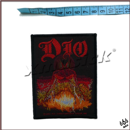 DIO 官方进口原版 Last In Line (Woven Patch)