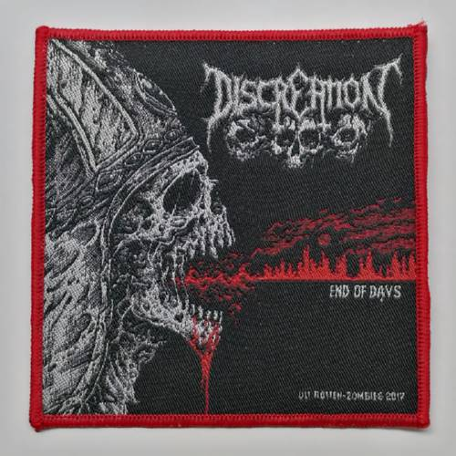 DISCREATION 进口官方原版 End of Days (Woven Patch)