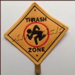 D.R.I. - Thrash Zone (Embroidered Patch)