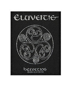 ELUVEITIE 官方进口原版 Helvetios (Woven Patch)
