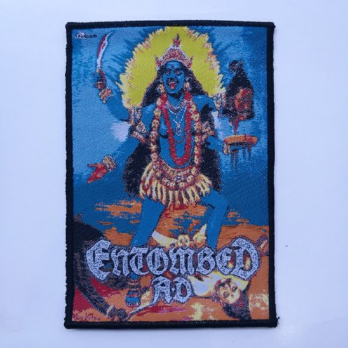 ENTOMBED A.D. 官方进口原版 Total Death (Woven Patch)
