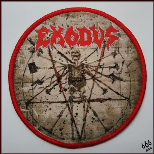 EXODUS 官方进口原版 Exhibit B (Woven Patch)