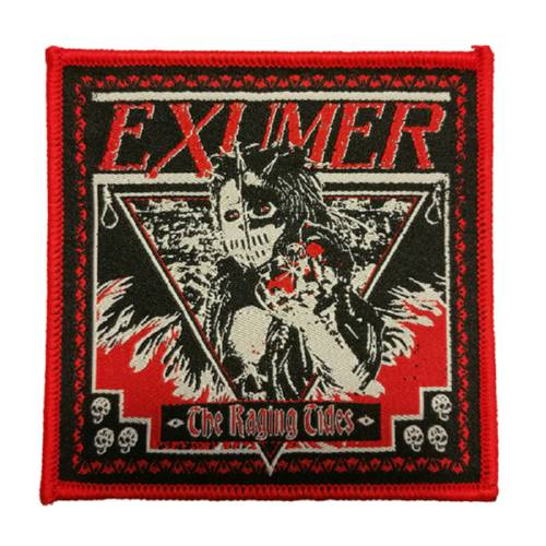 EXUMER 官方进口原版 The Raging Tides (Woven Patch)