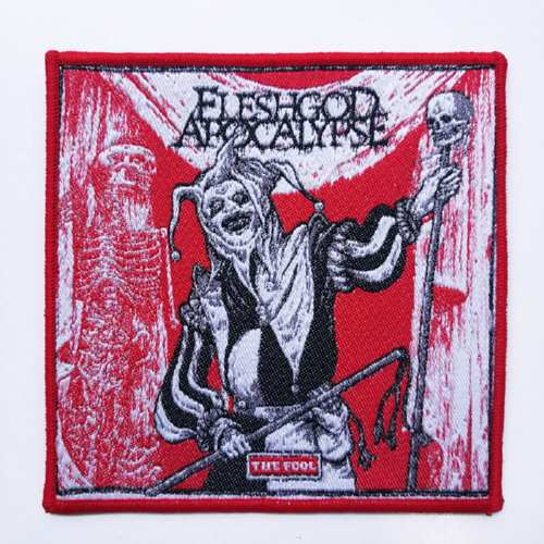 FLESHGOD APOCALYPSE 官方进口原版 The Fool (Woven Patch)