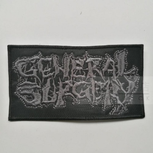 GENERAL SURGERY - Logo (Embroidered Patch)