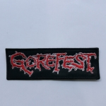 GOREFEST - Logo (Embroidered Patch)