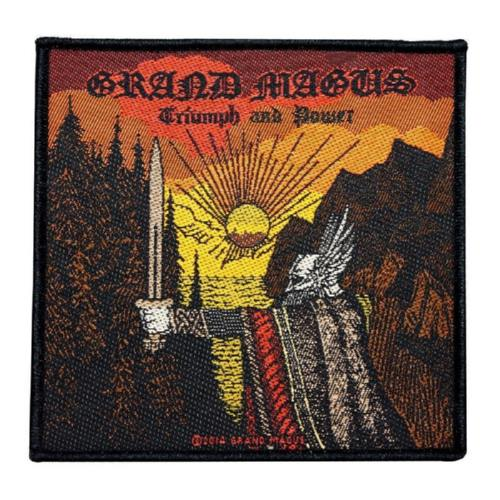 GRAND MAGUS 官方进口原版 Triumph And Power (Woven Patch)