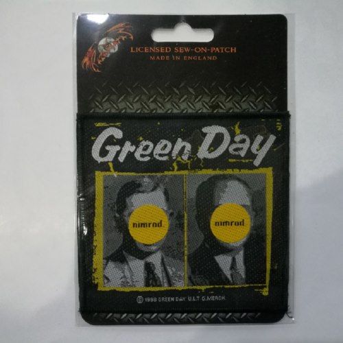 GREEN DAY 官方进口原版 Nimrod (Woven Patch)