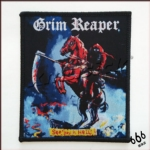 GRIM REAPER 官方进口原版 See You In Hell (Woven Patch)