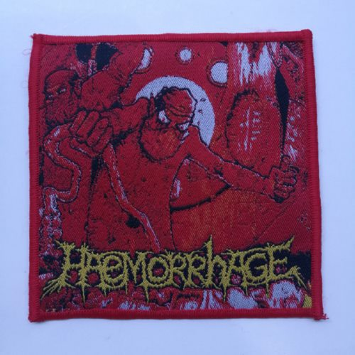 HAEMORRHAGE 官方进口原版 Anatomical Inferno (Woven Patch)