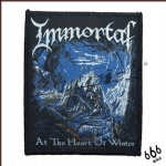 IMMORTAL 官方进口原版 At Heart of the Winter (Woven Patch)