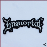 IMMORTAL - Logo (Embroidered Patch)