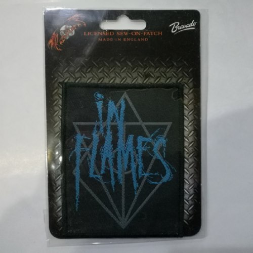 IN FLAMES 官方进口原版 Logo (Woven Patch)