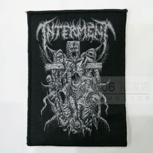 INTERMENT 官方进口原版 Crucifixe (Woven Patch)